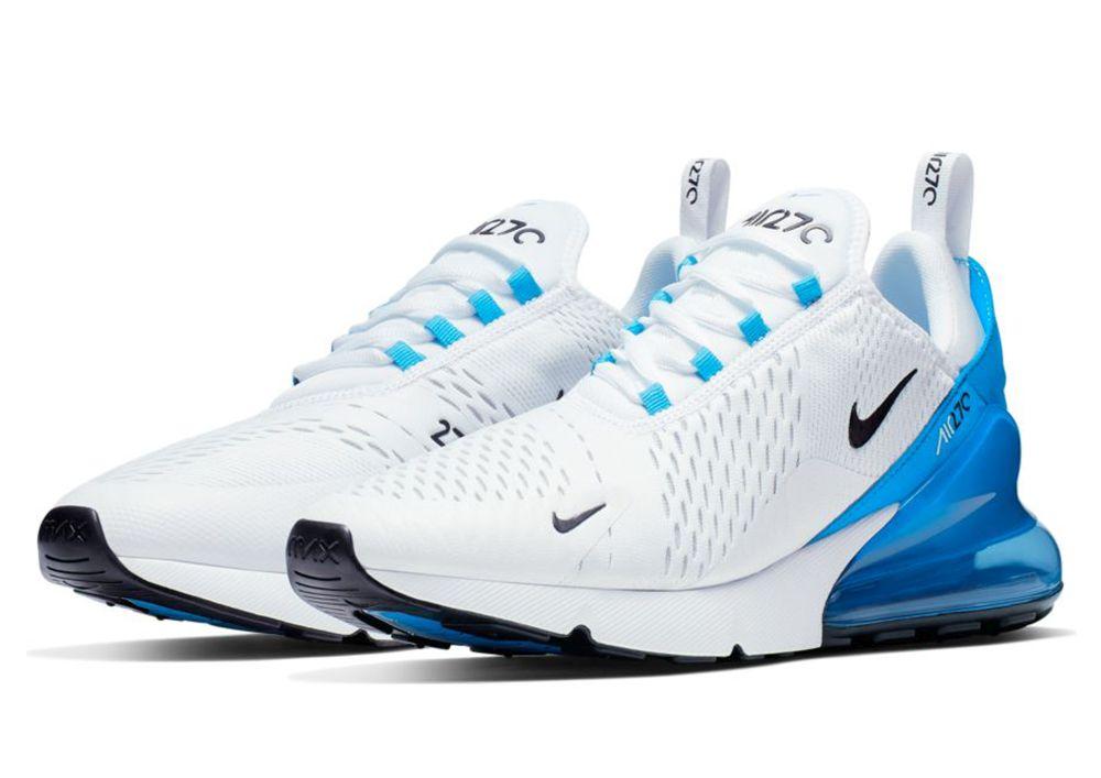 Nike Air Max 270 Sneaker Herren white black photo blue pure