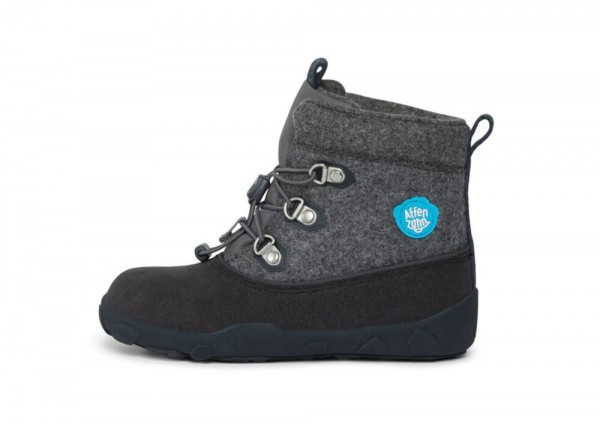 Affenzahn Minimal Midboot Wool Dog