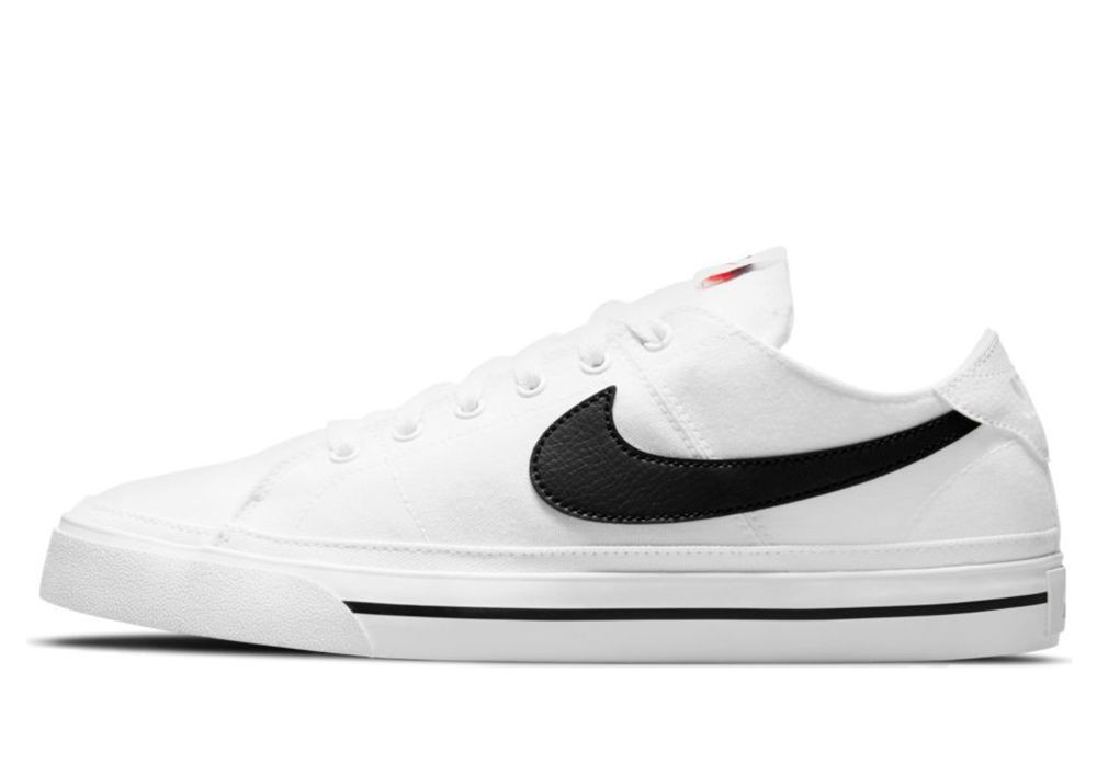 Nike  NIKE COURT LEGACY CANVAS  men's Shoes (Trainers) in White - CW6539-101