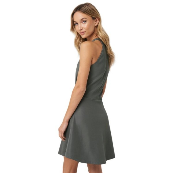 NA-KD Halter Neck Skater Dress