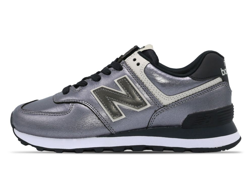 New Balance  574  women's Shoes (Trainers) in Silver - WL574WNF