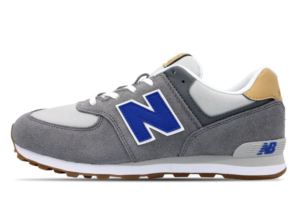 New Balance  574  boys's Shoes (Trainers) in Grey - GC574NA2
