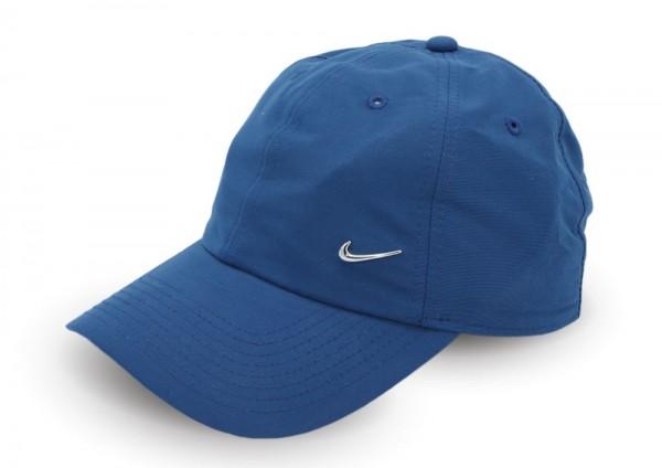 Nike Metal Swoosh Logo Cap