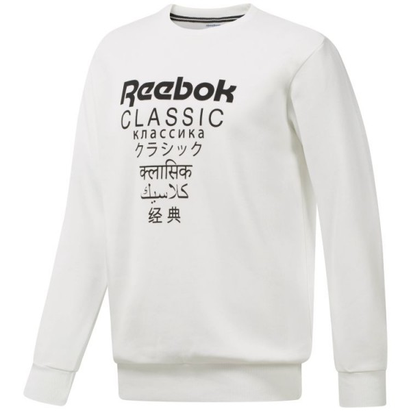 Reebok GP UNISEX FLEECE CR WHITE