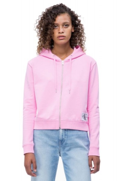 Calvin Klein Boxy Zip UP Monogram