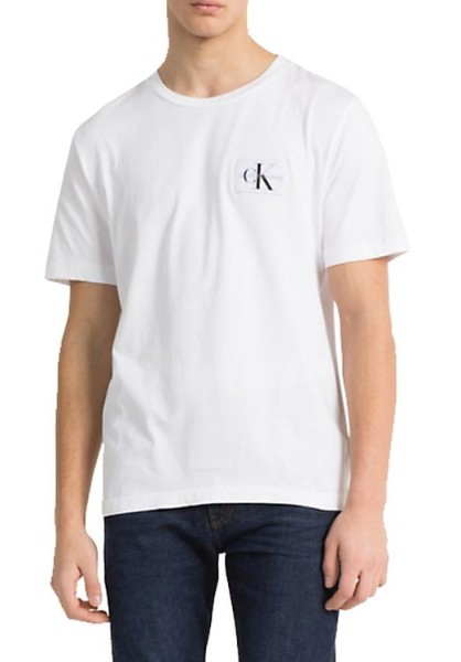 Calvin Klein Monogram Chest Badge