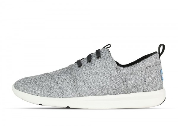 TOMS Del Rey Grey Diamond Melange
