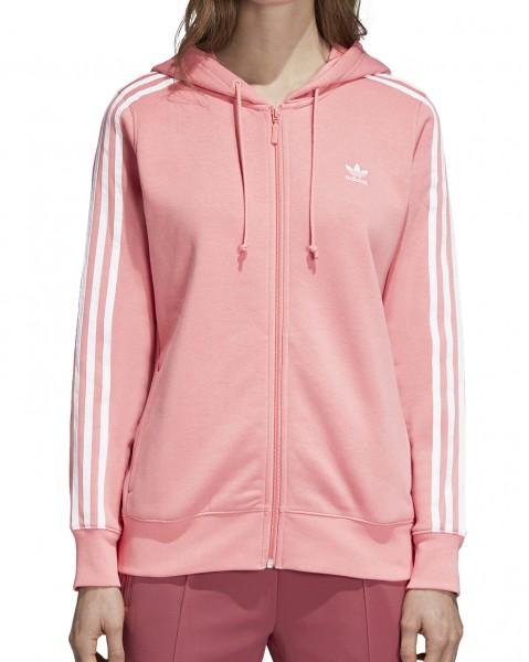 adidas 3 Stripe Zip Hoodie